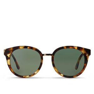 Tory Burch Polarized Panama Sunglasses